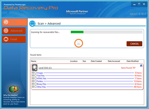 data-recovery-pro-scan Usam Virus File poisto
