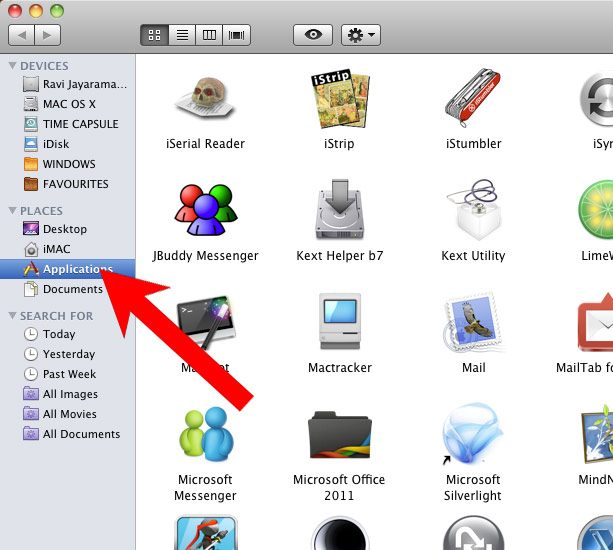 mac-os-apps كيفية إزالة EngageSearch