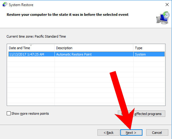win10-restore How to remove .Vusad file extension virus