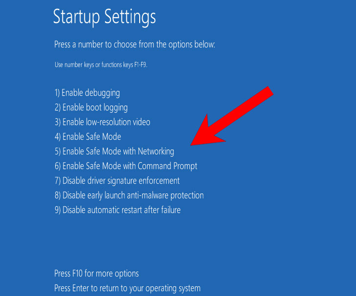 win10-safe-mode How to remove PassLock