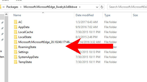 edge-folder Jak usunąć Private-searching.net