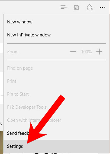 edge-menu Remove Typacodosof.info from Chrome, Firefox and IE